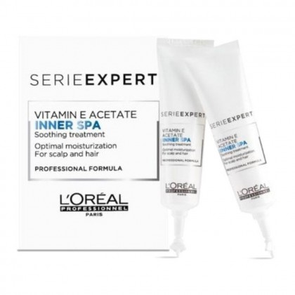 Loreal Professionnel Serie Expert Vitamin E Acetate Inner Spa Soothing Treatment (16 x 12ml)