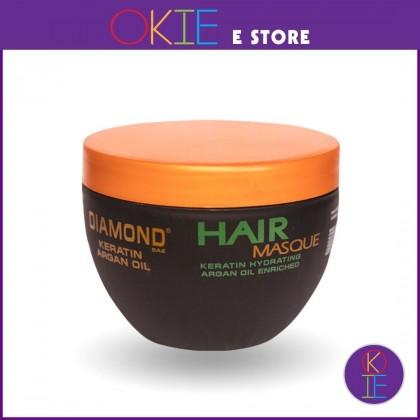 Diamond Keratin Argan Oil Hair Masque - 250ml