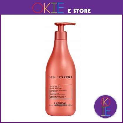 Loreal Serie Expert Inforcer Shampoo - 500ml