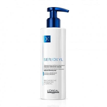 Loreal Professionnel Serioxyl Shampoo For Natural Thinning Hair - 250ml (New Packaging)