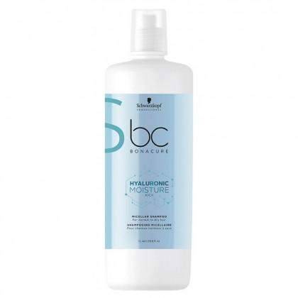 Schwarzkopf BC Hyaluronic Moisture Kick Micellar Shampoo - 1000ml