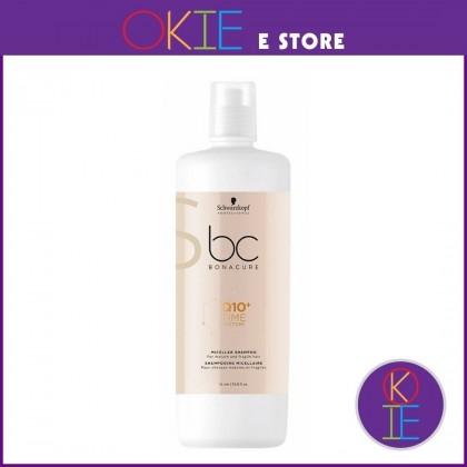 Schwarzkopf BC Q10+ Time Restore Micellar Shampoo - 1000ml
