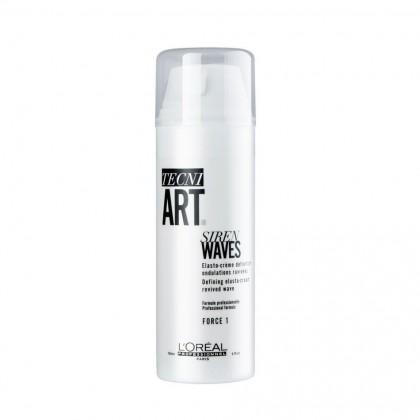 Loreal Techi.ART Siren Waves Defining Elasto-Cream - 150ml
