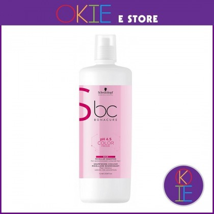 Schwarzkopf BC pH 4.5 Color Freeze Rich Micellar Shampoo - 1000ml
