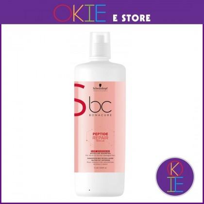 Schwarzkopf BC Peptide Repair Rescue Deep Nourishing Micellar Shampoo - 1000ml