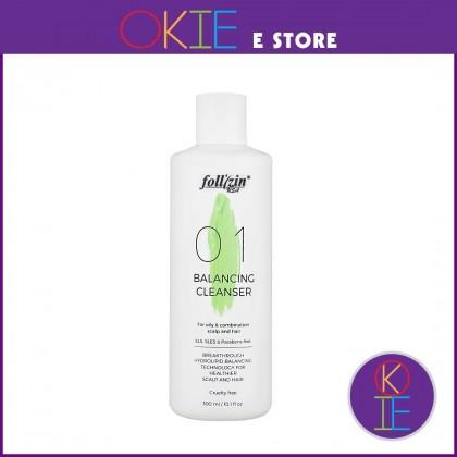 Follizin Balancing Cleanser Shampoo - 300ml